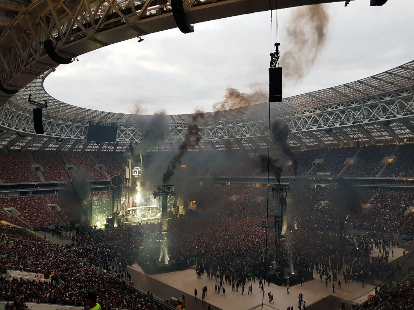 Тамбовчане побывали на концерте Rammstein в Москве. ВИДЕО, фото-1