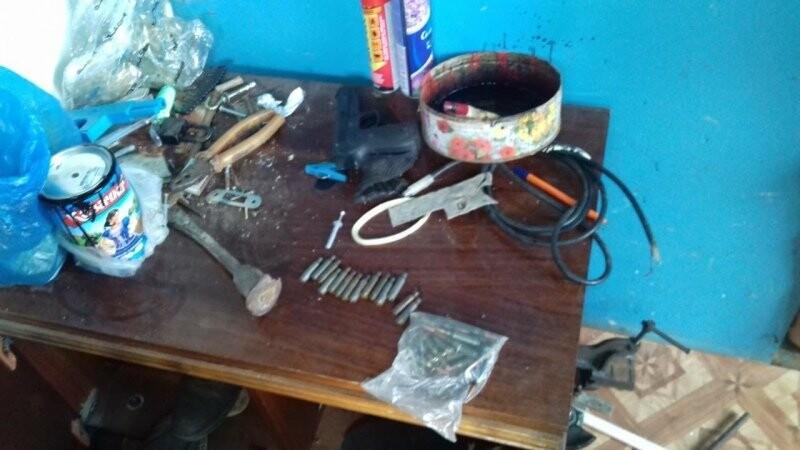 Полиция обнаружила у 38-летнего тамбовчанина целый арсенал, фото-1