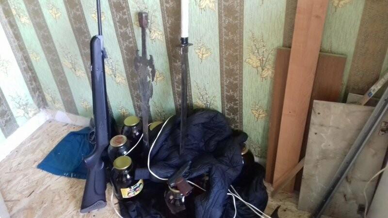 Полиция обнаружила у 38-летнего тамбовчанина целый арсенал, фото-2