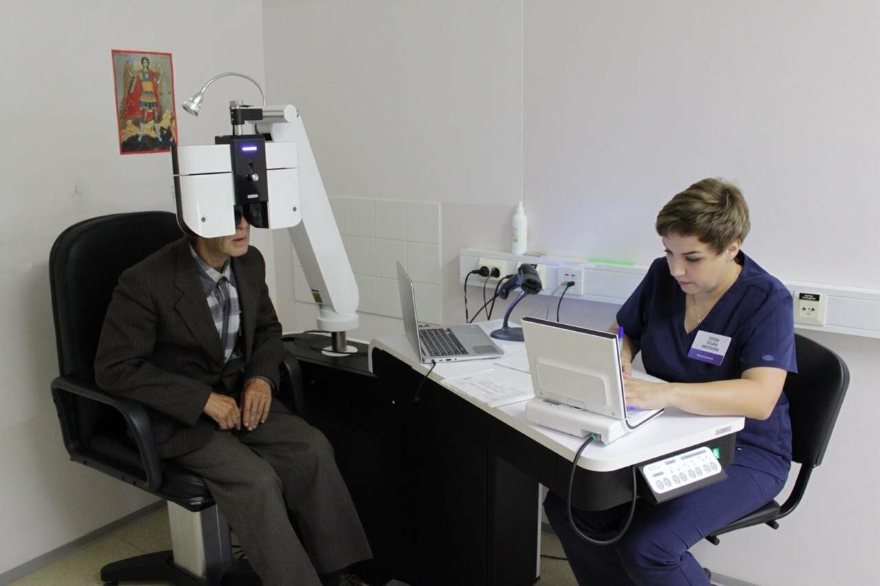 В Тамбовском филиале МНТК «Микрохирургия глаза» провели бесплатную диагностику зрения пациентов, фото-1