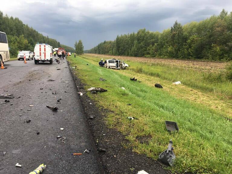 В Тамбовской области столкнулись два автобуса: 5 человек погибли. ВИДЕО, фото-2
