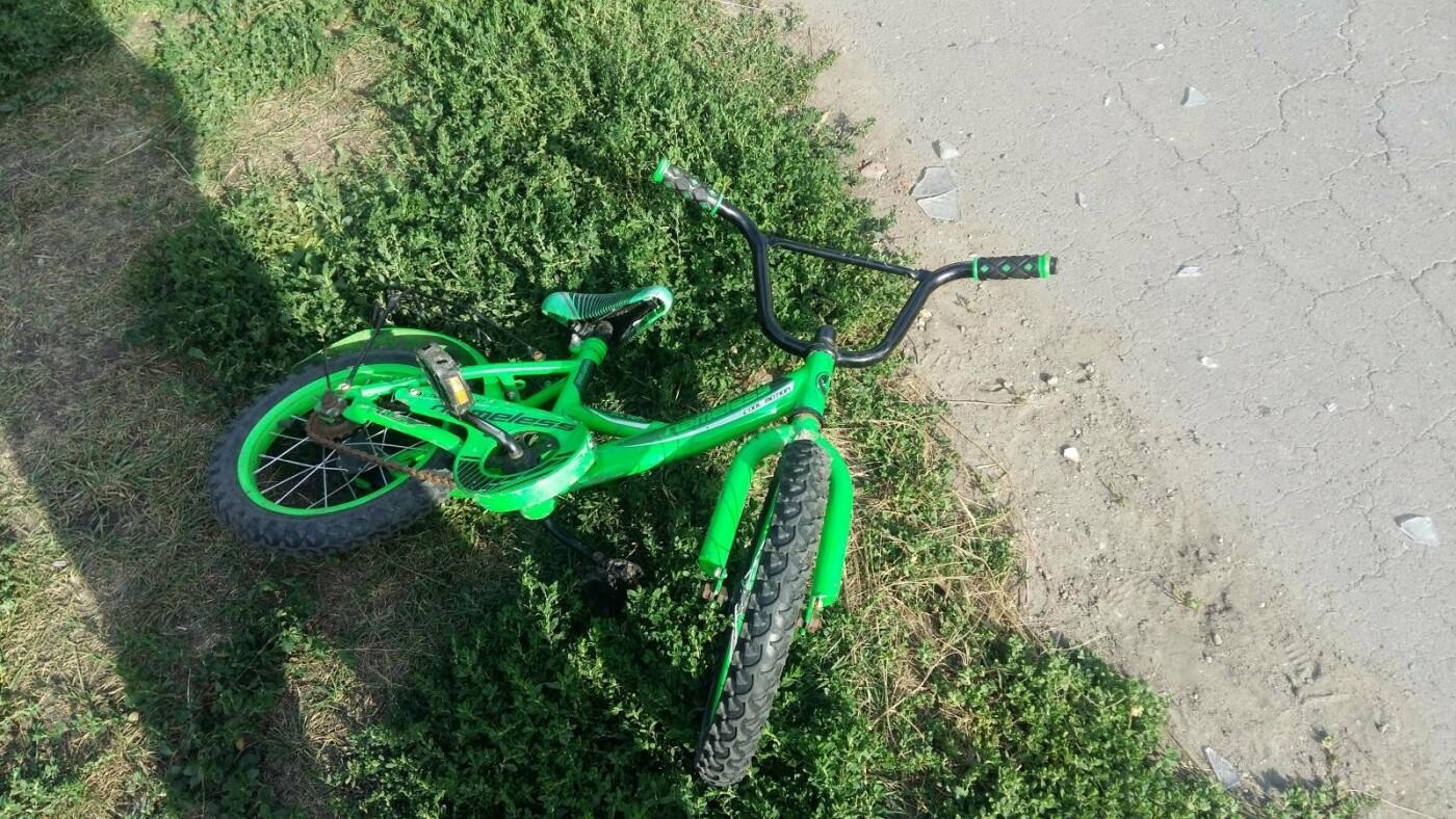 В Тамбовском районе легковушка сбила 4-летнего велосипедиста, фото-1