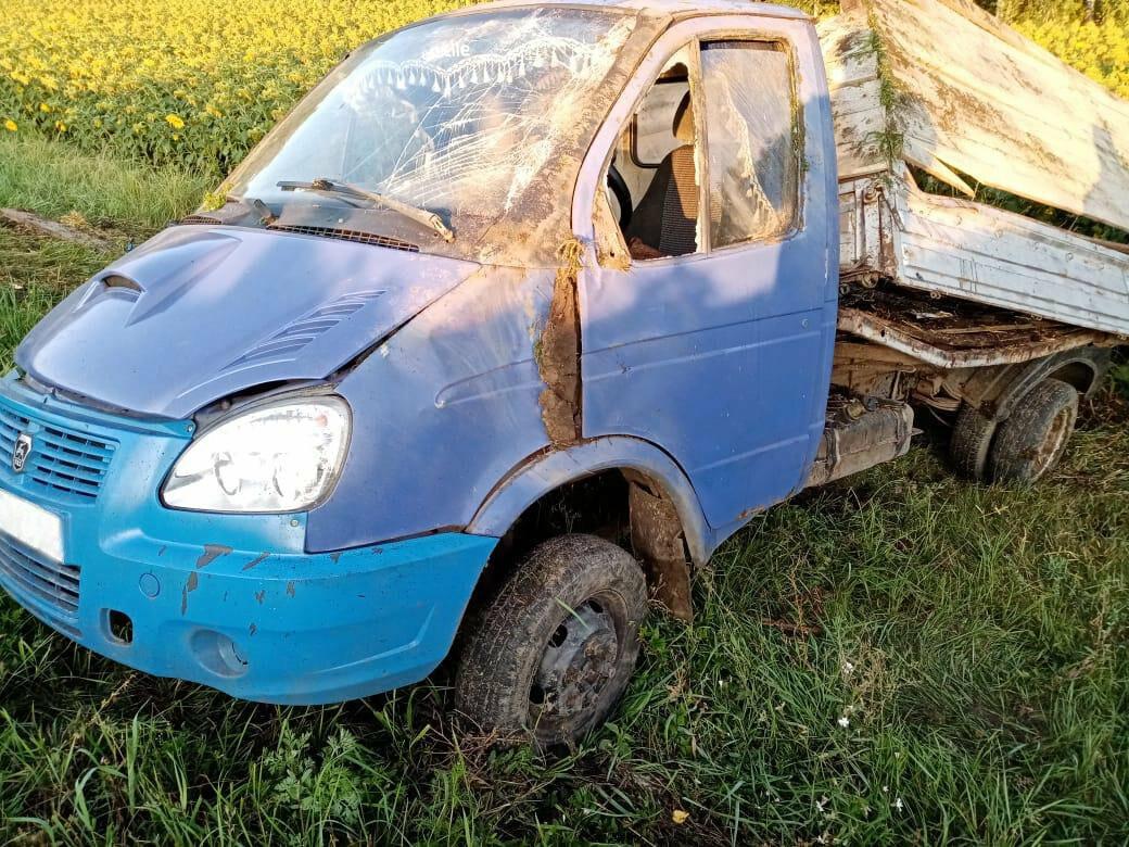 Пьяный тамбовчанин на иномарке врезался в «ГАЗель» и скрылся с места ДТП, фото-1