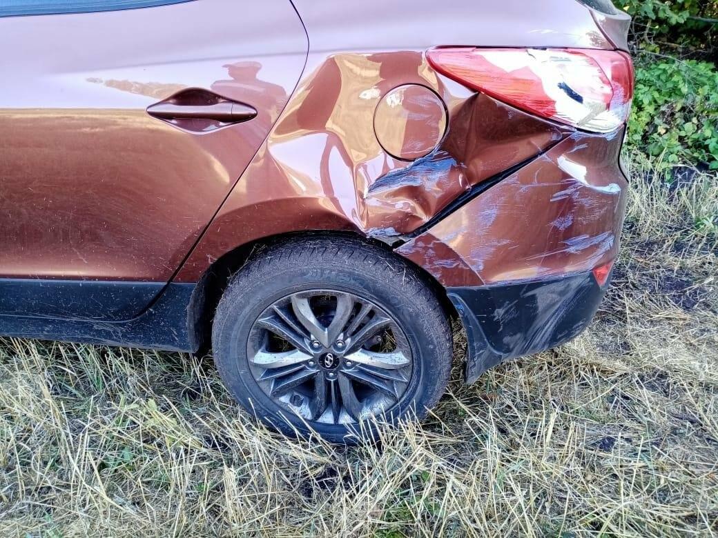 Пьяный тамбовчанин на иномарке врезался в «ГАЗель» и скрылся с места ДТП, фото-2