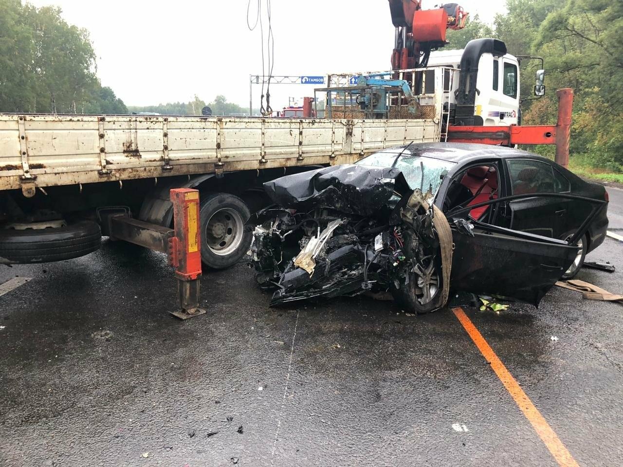 Авария на Р-22 в Тамбовской области унесла жизни трех человек, фото-2