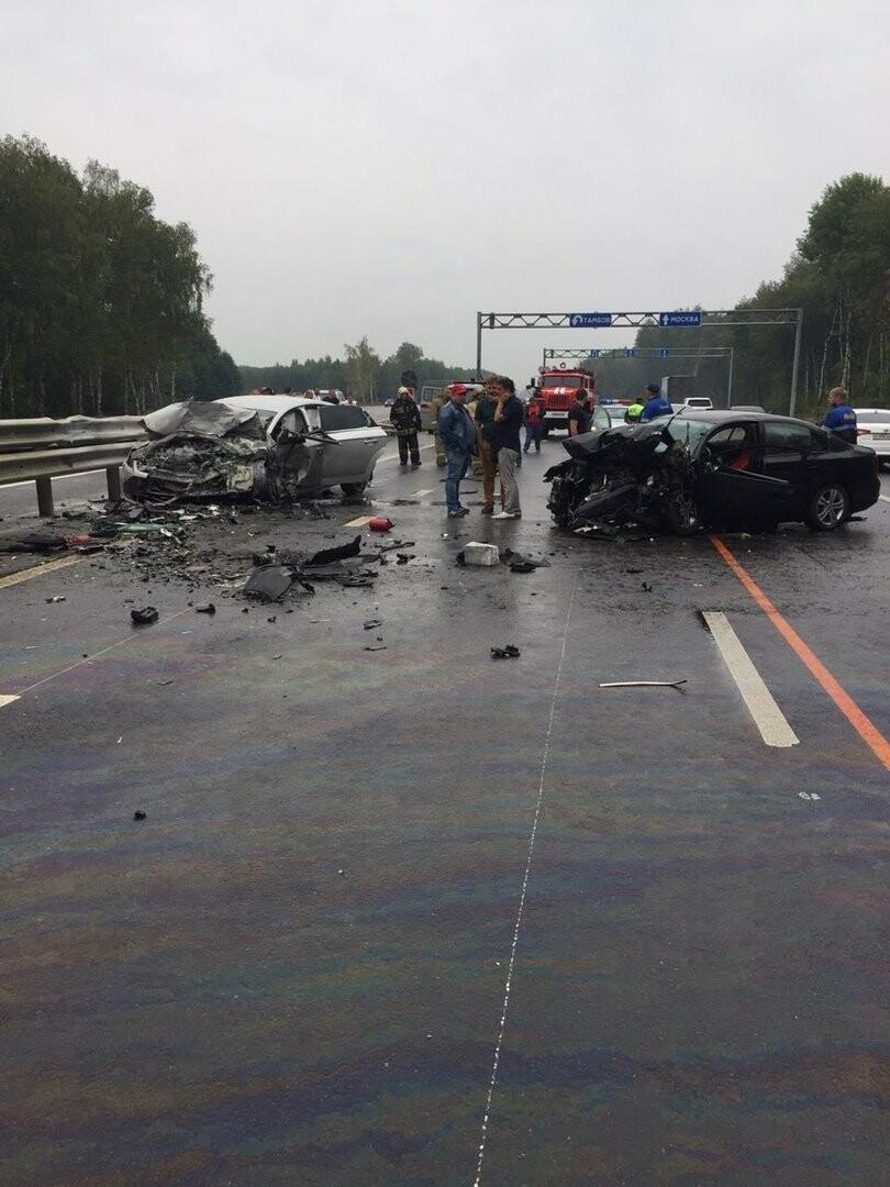 Авария на Р-22 в Тамбовской области унесла жизни трех человек, фото-1
