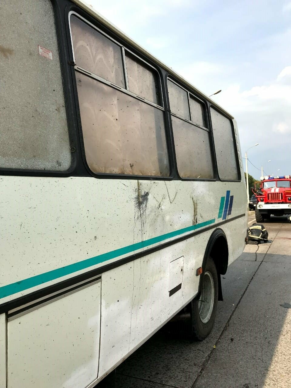 В Тамбовском районе на трассе Р-22 легковушка врезалась в автобус: трое госпитализированы, фото-3