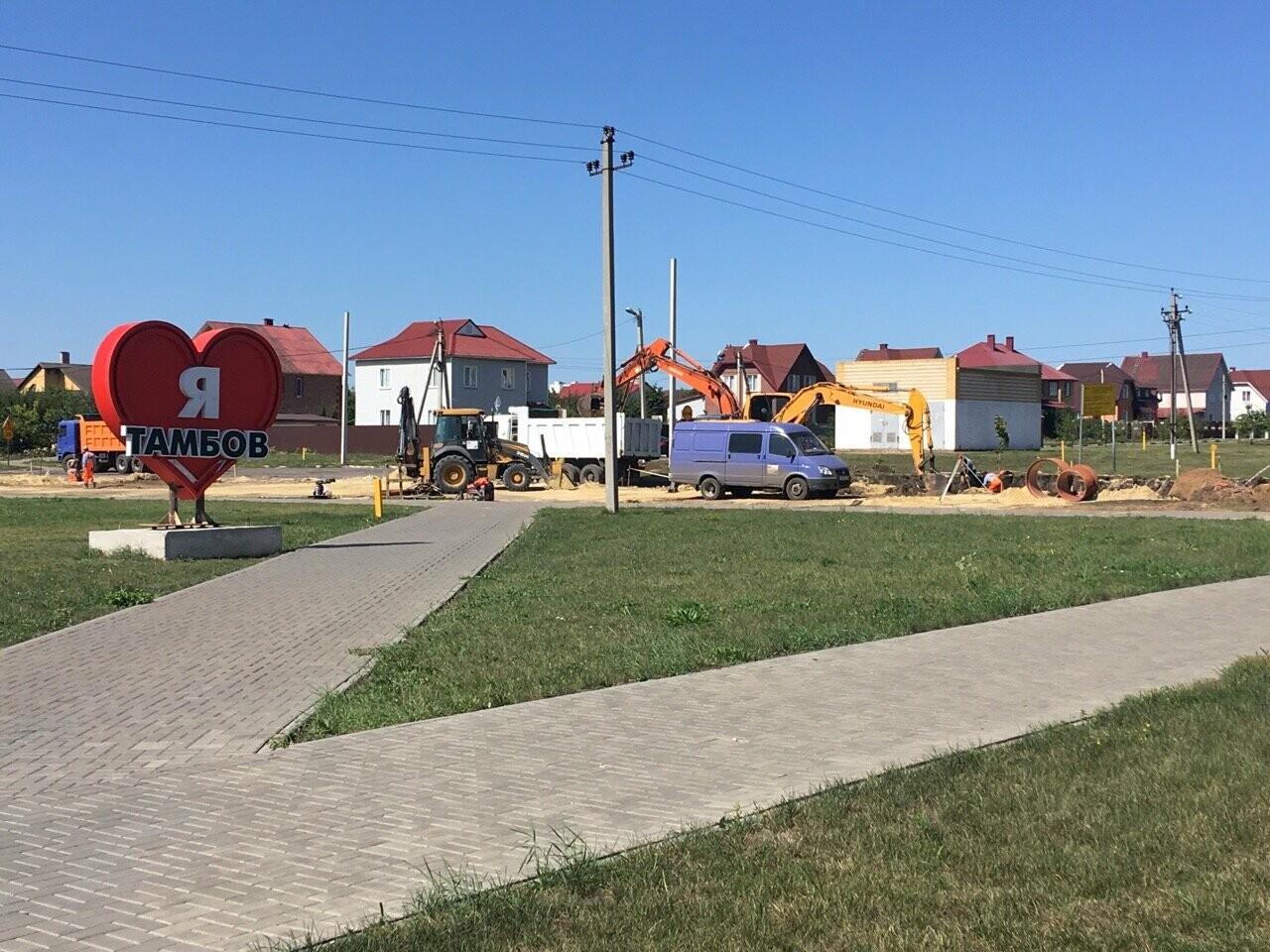 На севере Тамбова на неделю перекрыли улицу Селезнёвскую, фото-1