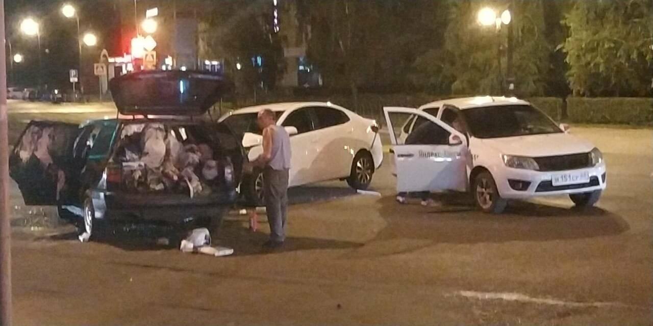 В центре Тамбова в массовом ДТП пострадал человек, фото-1