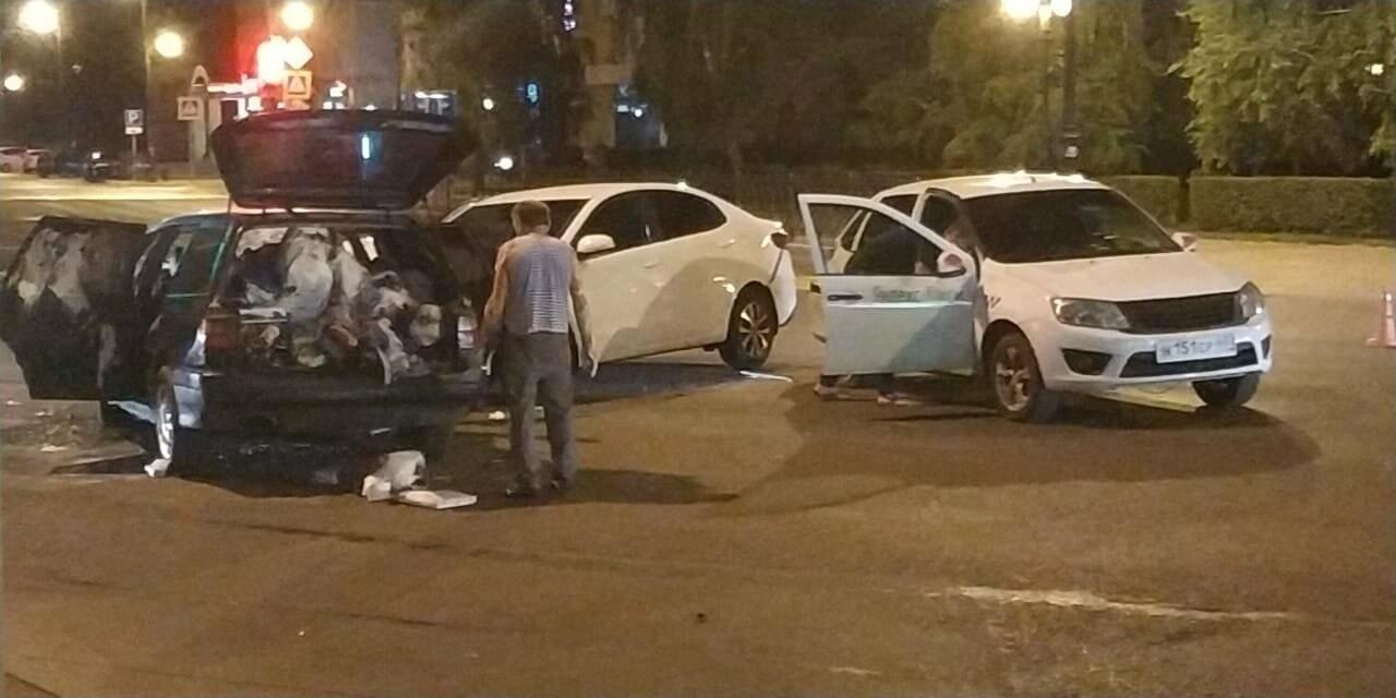 В центре Тамбова в массовом ДТП пострадал человек, фото-4