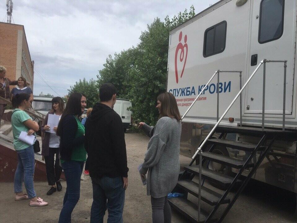 В Котовске побывала мобильная станция переливания крови, фото-1