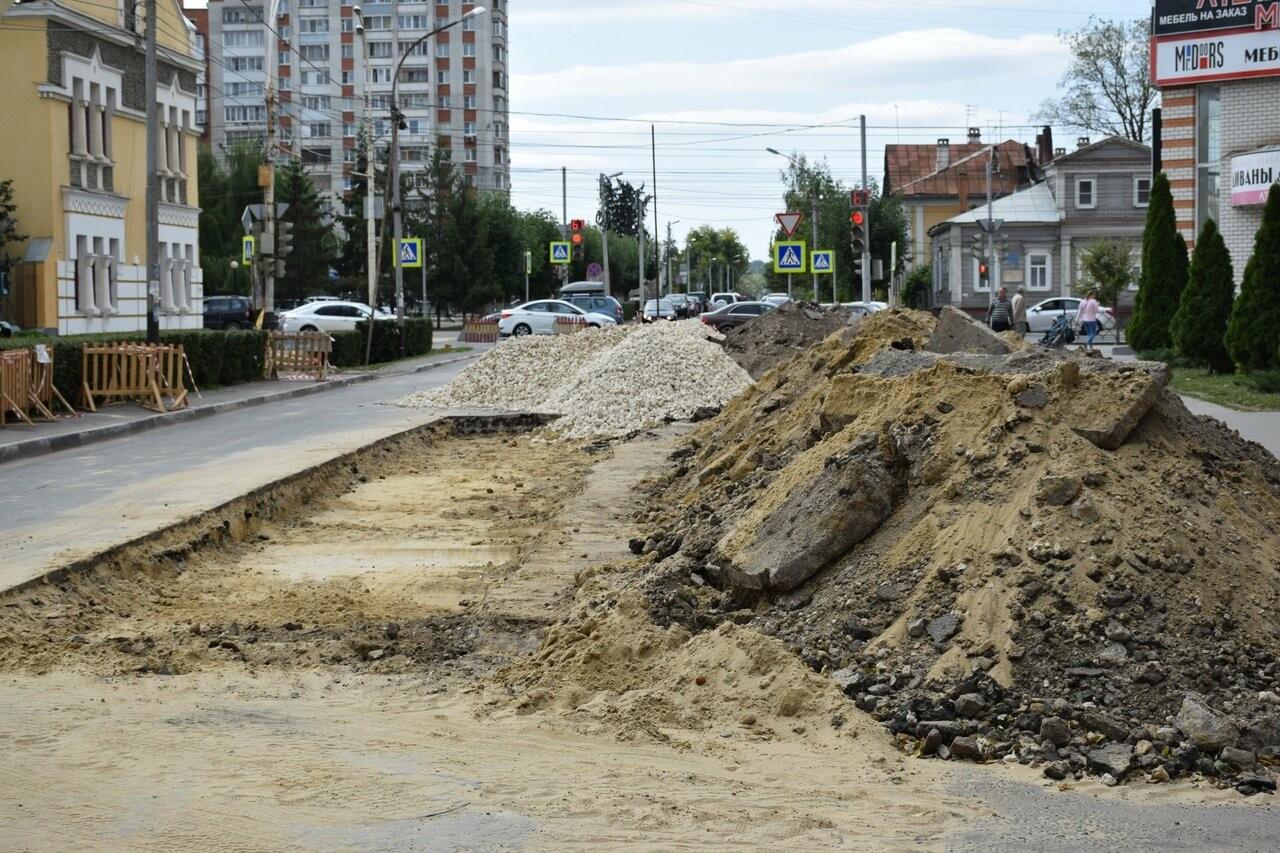 На улице Сергеева-Ценского в Тамбове восстанавливают асфальтовое покрытие, фото-2