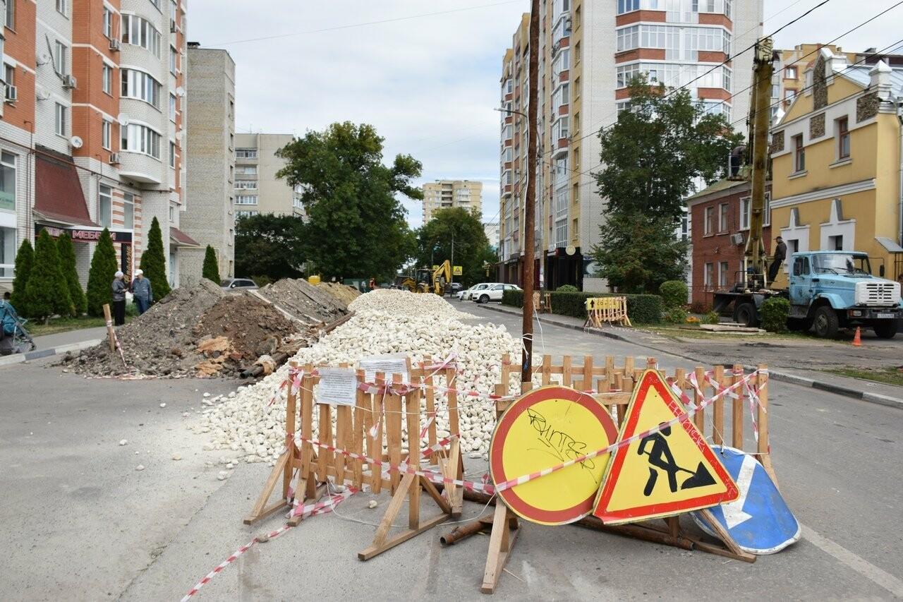 На улице Сергеева-Ценского в Тамбове восстанавливают асфальтовое покрытие, фото-4