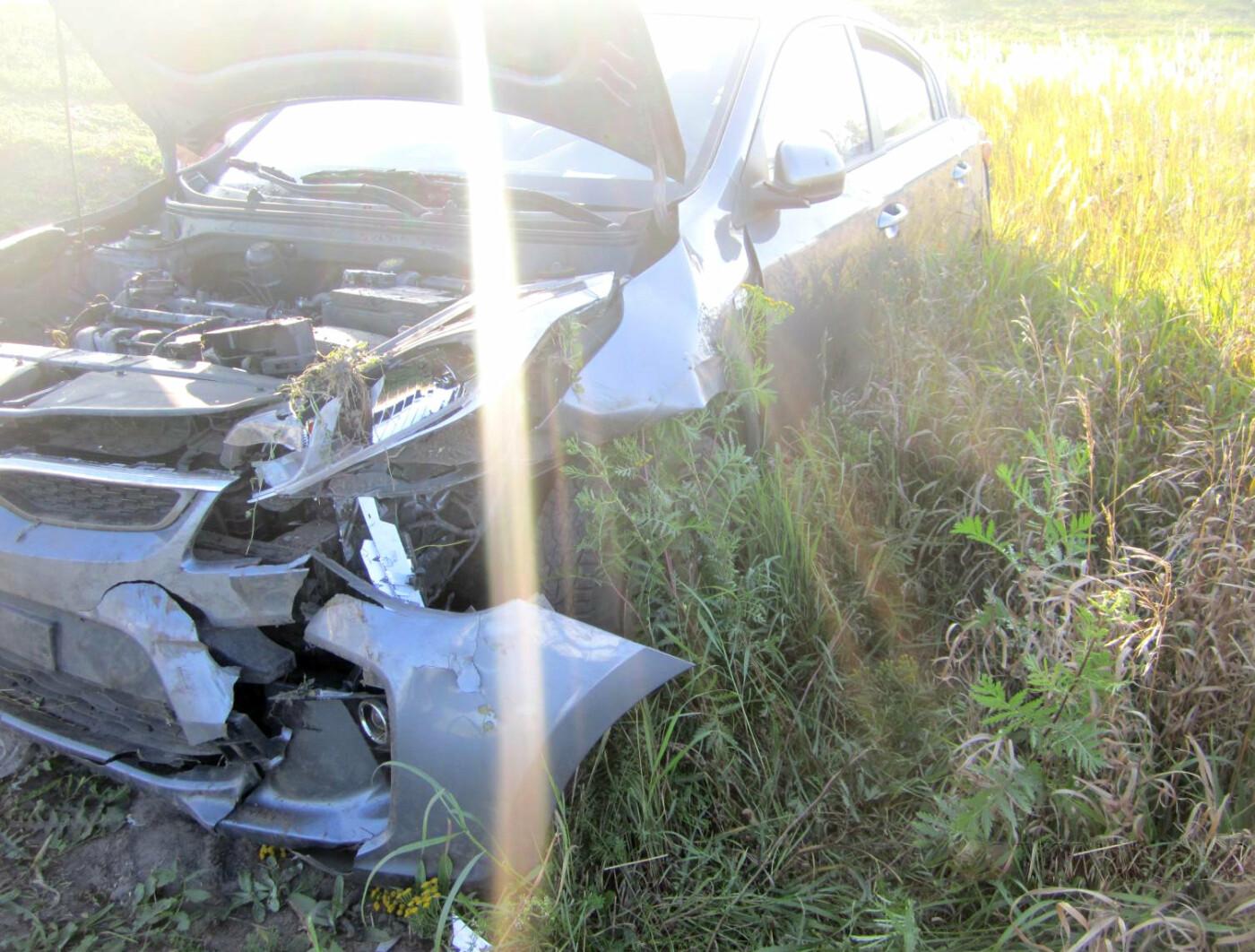 На трассе Р-22 в Тамбовской области перевернулась иномарка: пострадал ребенок, фото-2