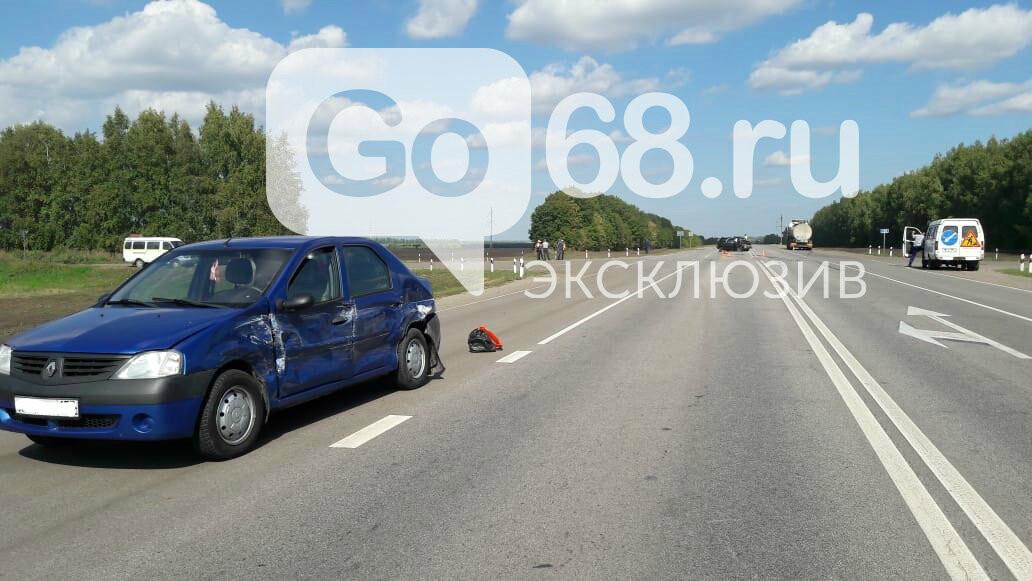 На федеральной трассе «Тамбов-Воронеж» произошло тройное ДТП: есть погибший, фото-5