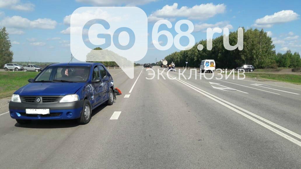 На федеральной трассе «Тамбов-Воронеж» произошло тройное ДТП: есть погибший, фото-3