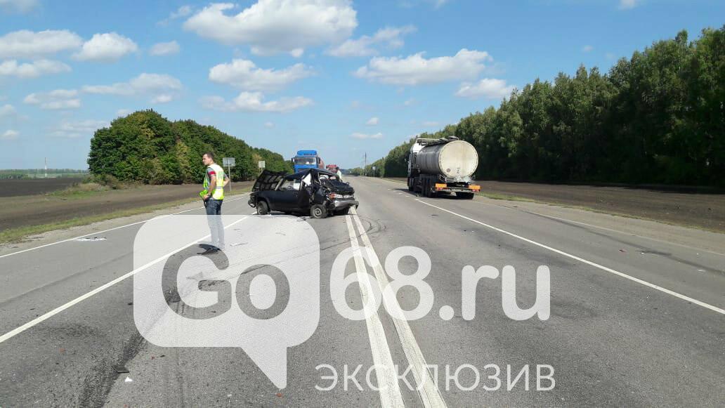 На федеральной трассе «Тамбов-Воронеж» произошло тройное ДТП: есть погибший, фото-4