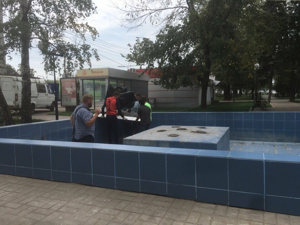В Речном сквере Тамбова на Гастелло завелись «Рыбки», фото-3
