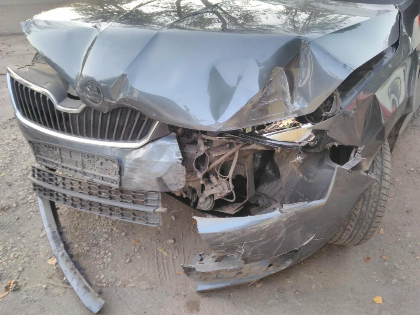 В Тамбове при столкновении двух иномарок пострадала женщина, фото-1