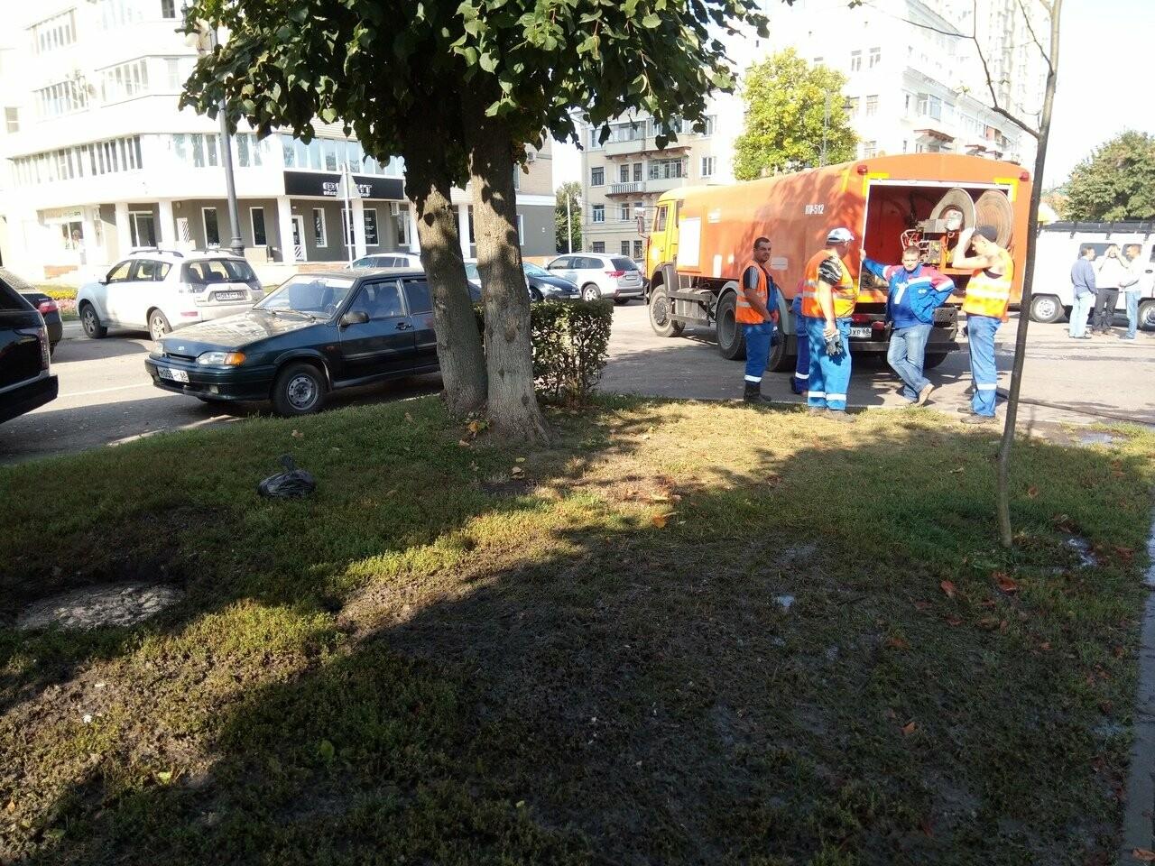 В Тамбове по Набережной текли нечистоты, фото-2