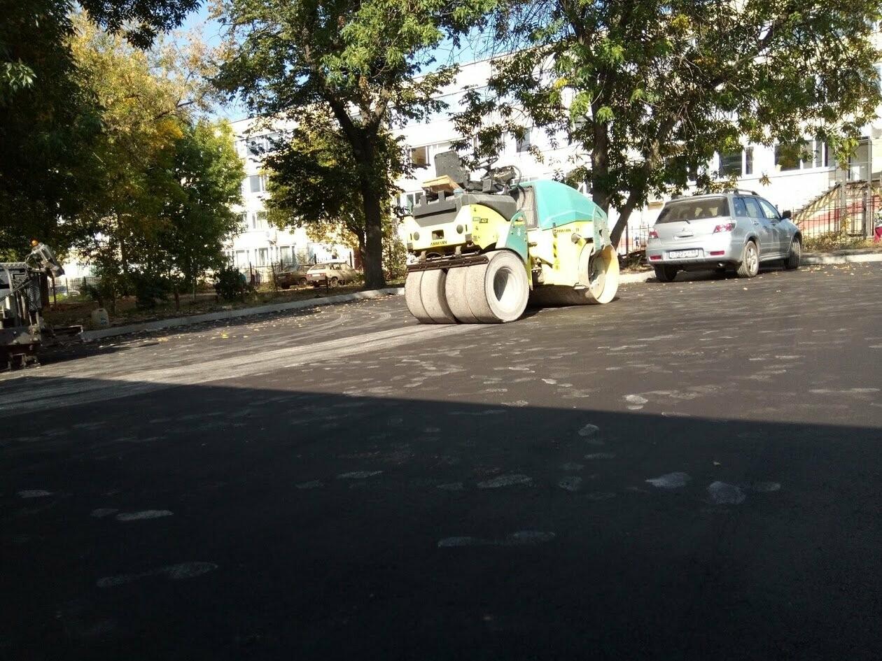 В Тамбове двор на Красноармейской, 3 отремонтировали по федеральной программе, фото-4