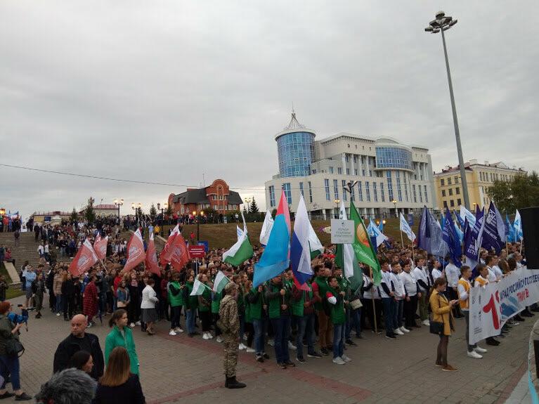 В Тамбове провели парад студенчества, фото-6