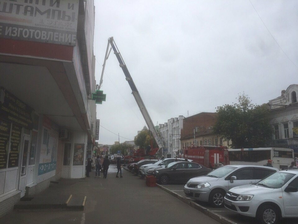 Как на «Руси» пожар случился: в Тамбове провели пожарные учения, фото-4