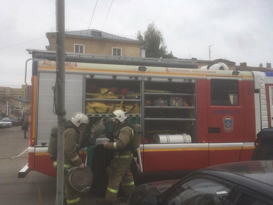 Как на «Руси» пожар случился: в Тамбове провели пожарные учения, фото-5