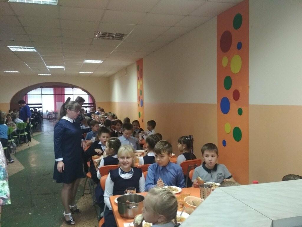 «Родительский патруль» проверил качество школьных обедов в тамбовской школе №31, фото-1