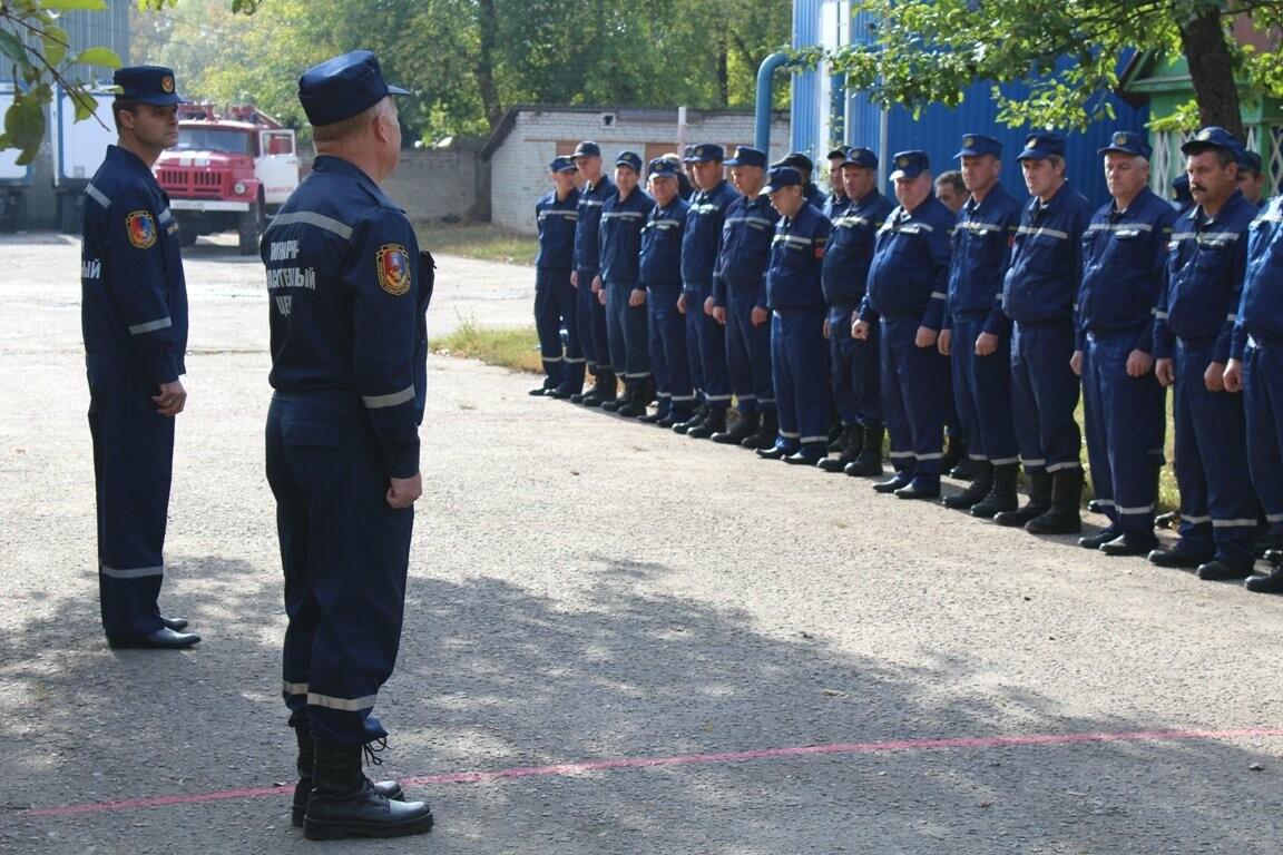 В Тамбове выбрали лучших пожарных, фото-3