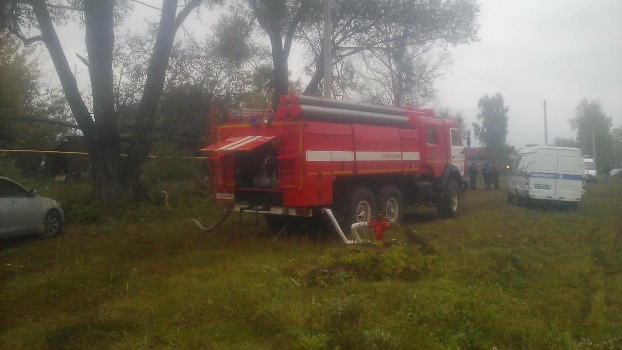 Под Тамбовом при пожаре погибли 4 человека: среди них 4-летний ребенок. ВИДЕО, фото-1