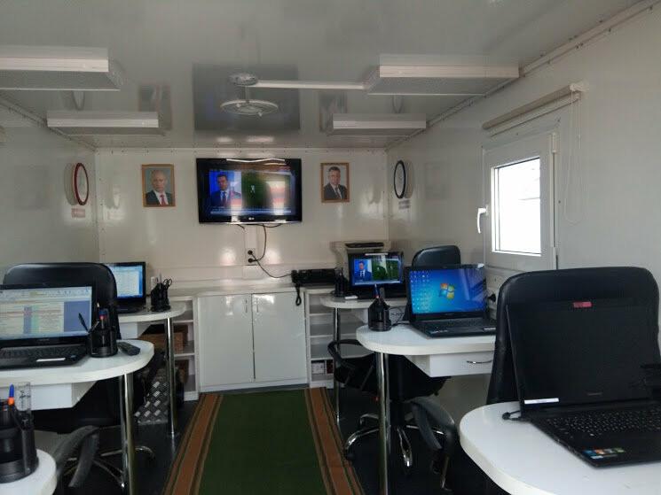 В тамбовском ГУ МЧС показали работу кризисного центра и передвижного пункта управления, фото-9