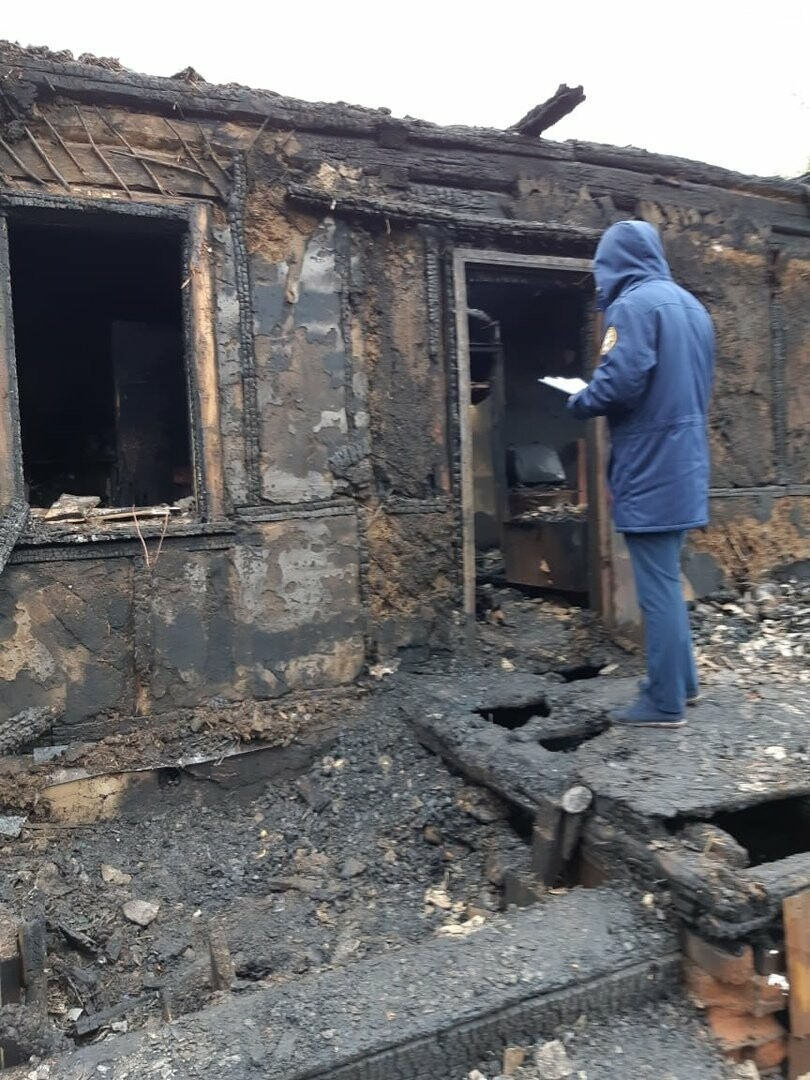 Под Тамбовом при пожаре погибли 4 человека: среди них 4-летний ребенок. ВИДЕО, фото-4
