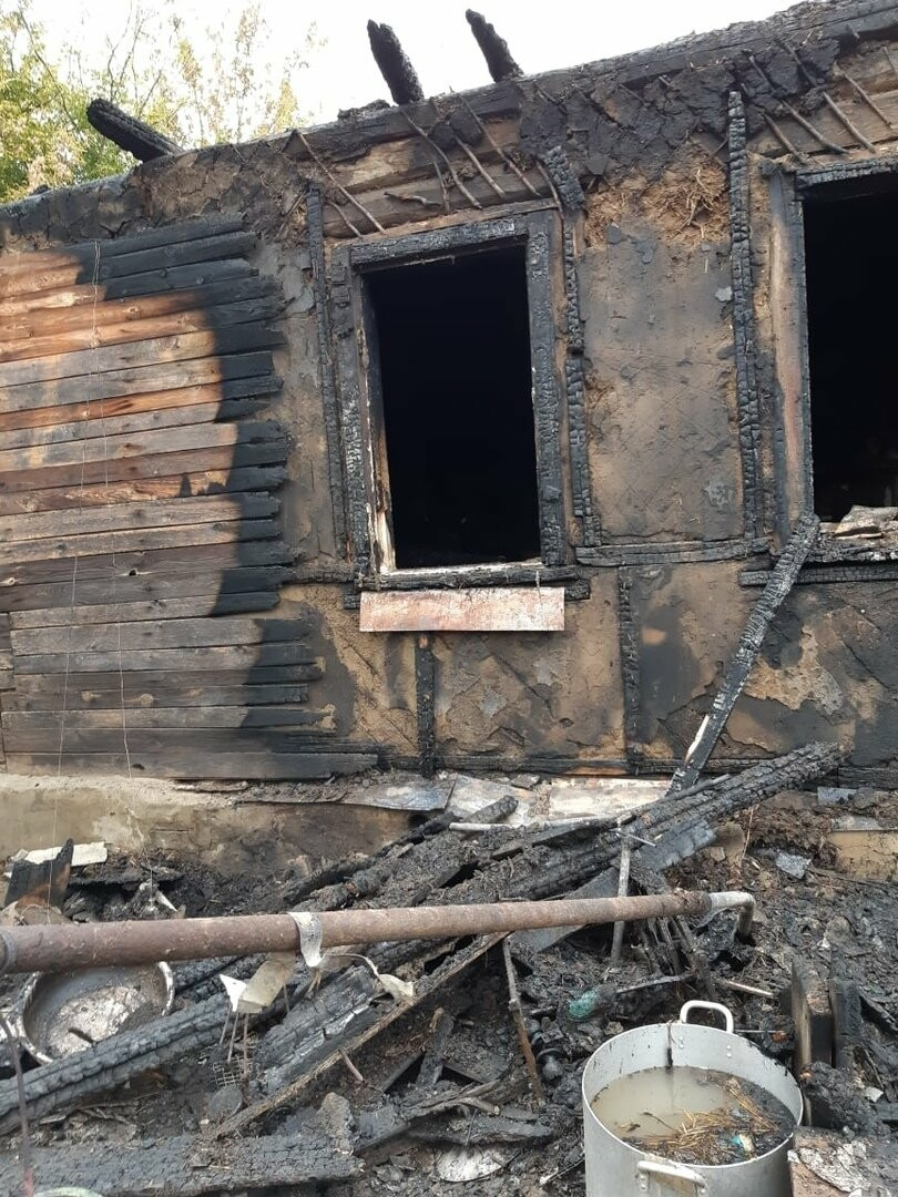 Под Тамбовом при пожаре погибли 4 человека: среди них 4-летний ребенок. ВИДЕО, фото-5