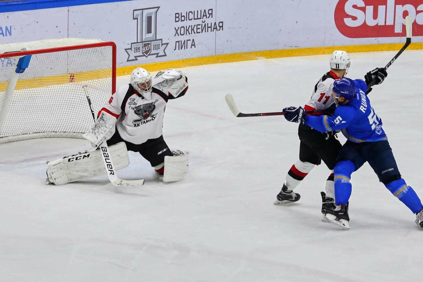 ХК «Тамбов» уступил во второй раз в ходе выездной серии в Казахстане, фото-2