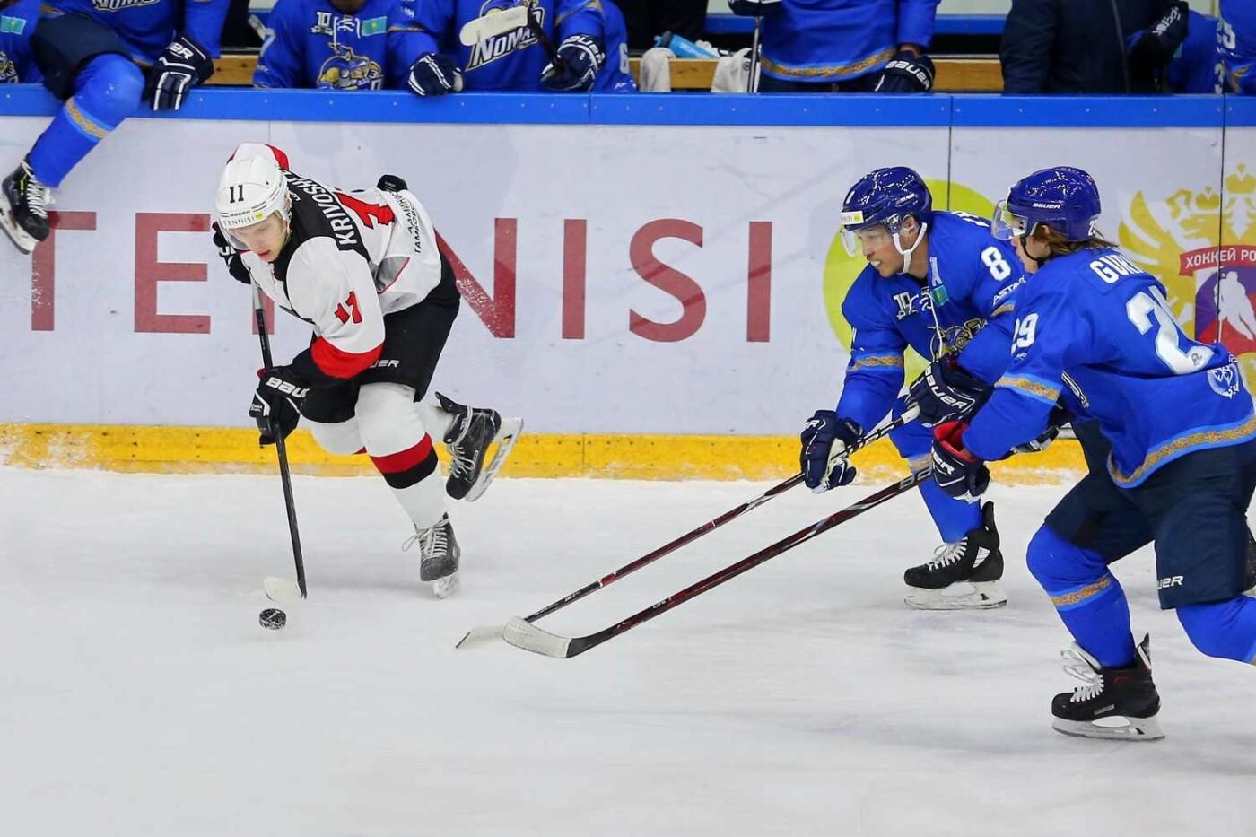 ХК «Тамбов» уступил во второй раз в ходе выездной серии в Казахстане, фото-4