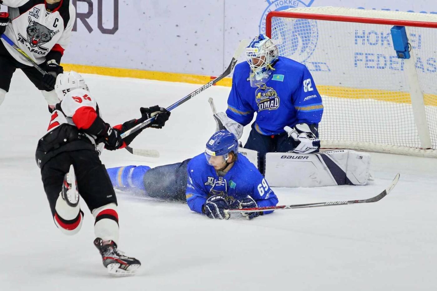 ХК «Тамбов» уступил во второй раз в ходе выездной серии в Казахстане, фото-5