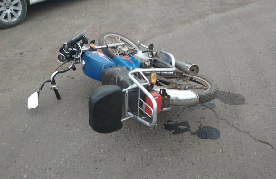 В Тамбовской области подросток на мопеде попал под колёса иномарки, фото-1