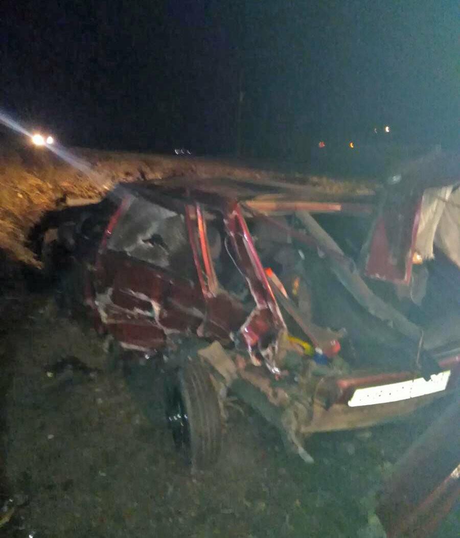 На трассе «Тамбов-Воронеж» при столкновении двух авто пострадала 4-месячная девочка, фото-1