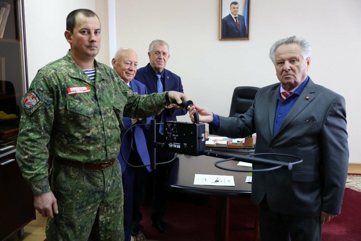 Тамбовский поисковый отряд получил неожиданный подарок , фото-1