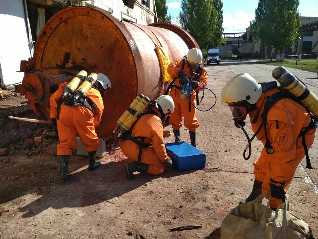 Сирены на «Пигменте»: в Тамбове ликвидировали разлитие соляной кислоты (видео), фото-5