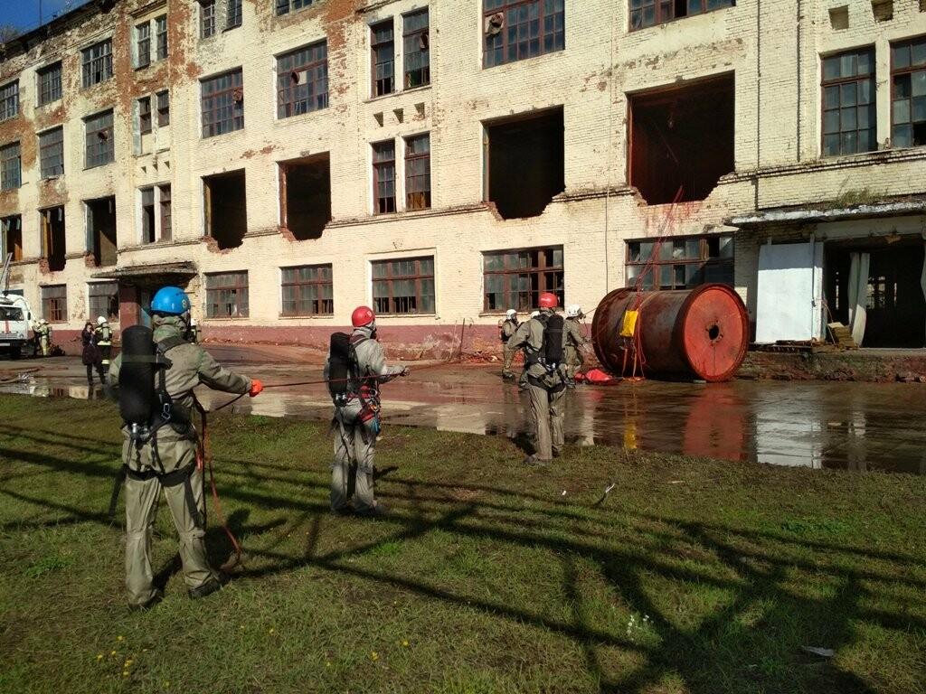 Сирены на «Пигменте»: в Тамбове ликвидировали разлитие соляной кислоты (видео), фото-16