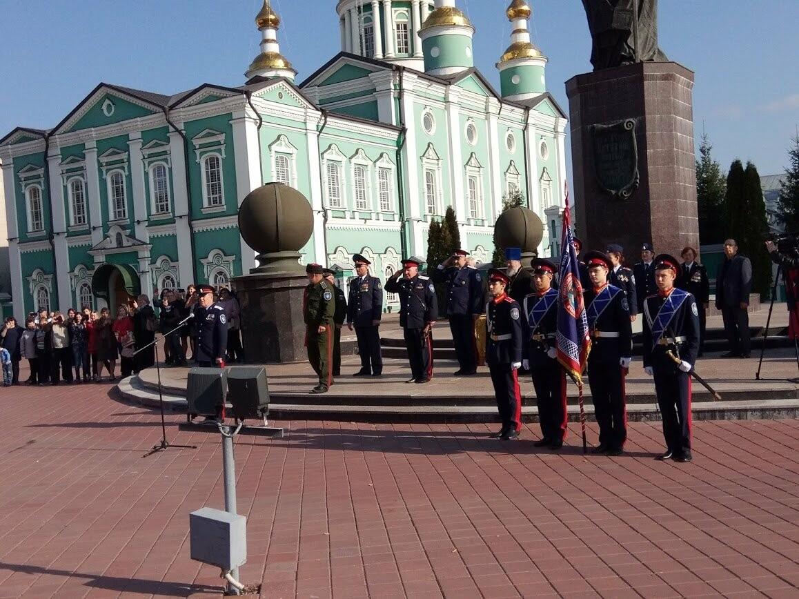 Юные воспитанники тамбовской казачьей школы-интерната приняли присягу , фото-3