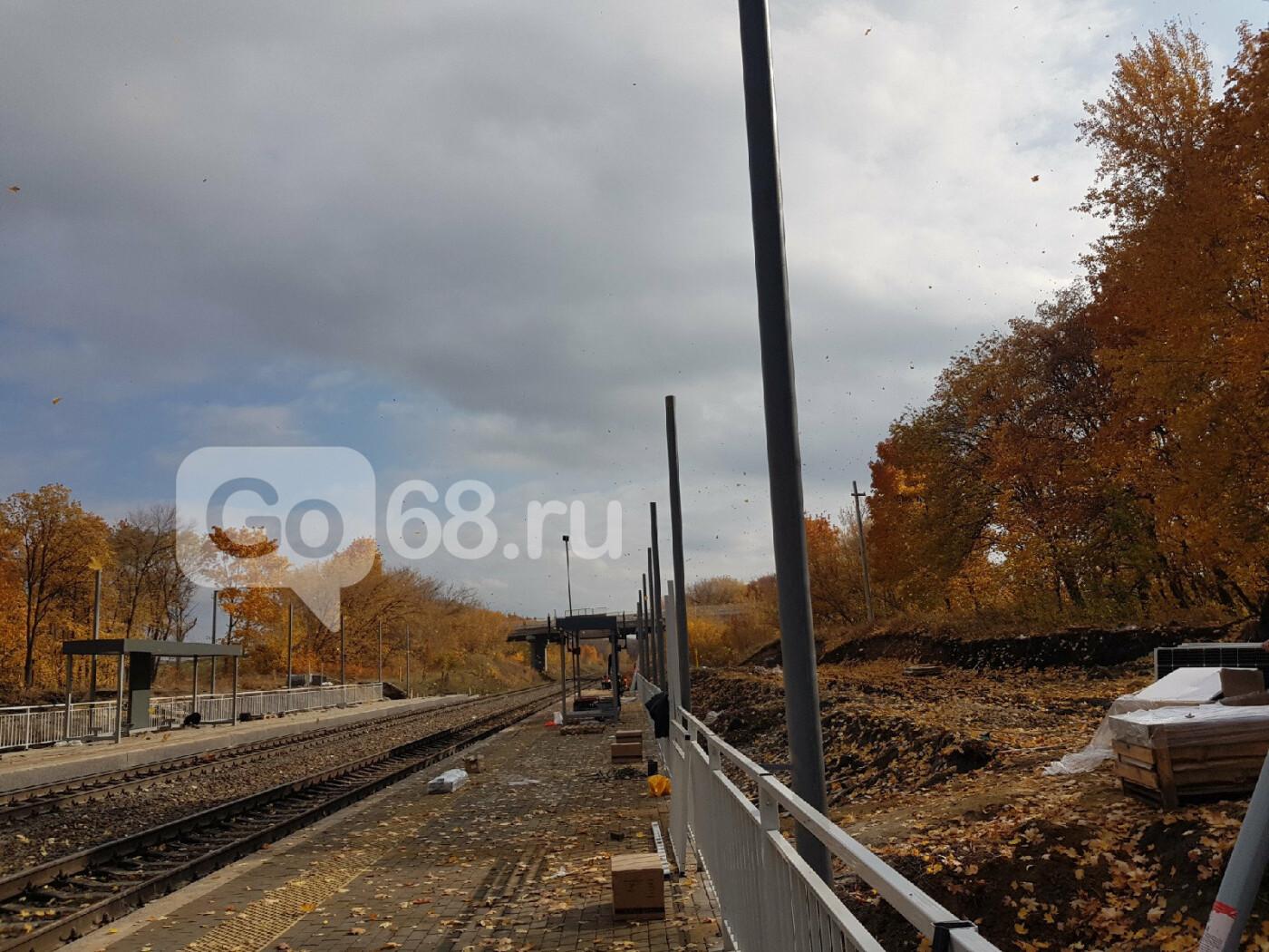 В Тамбове завершают строительство ж/д станции «Радужный», фото-5