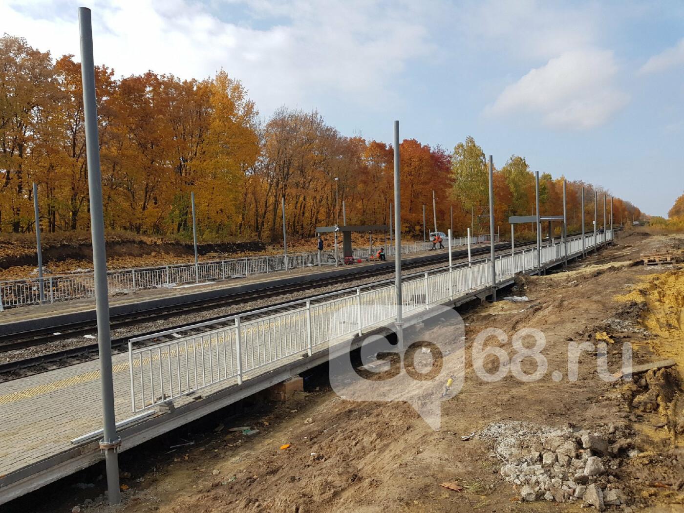 В Тамбове завершают строительство ж/д станции «Радужный», фото-8