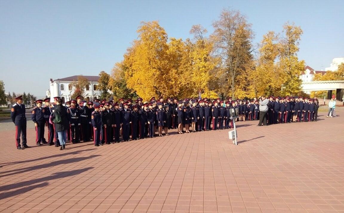 Юные воспитанники тамбовской казачьей школы-интерната приняли присягу , фото-1