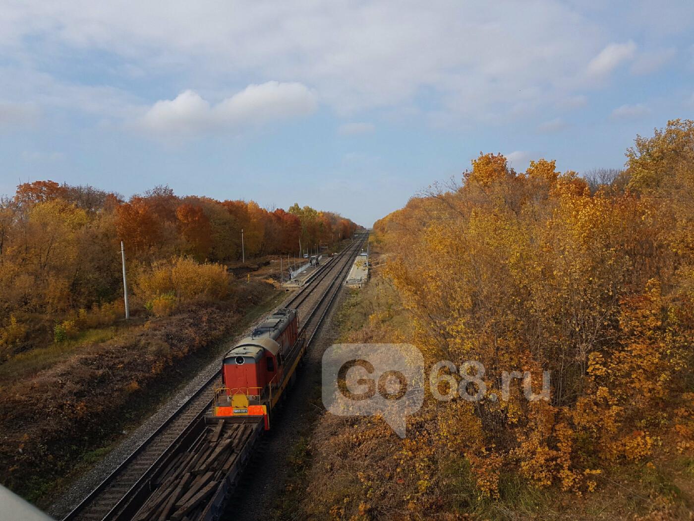 В Тамбове завершают строительство ж/д станции «Радужный», фото-6