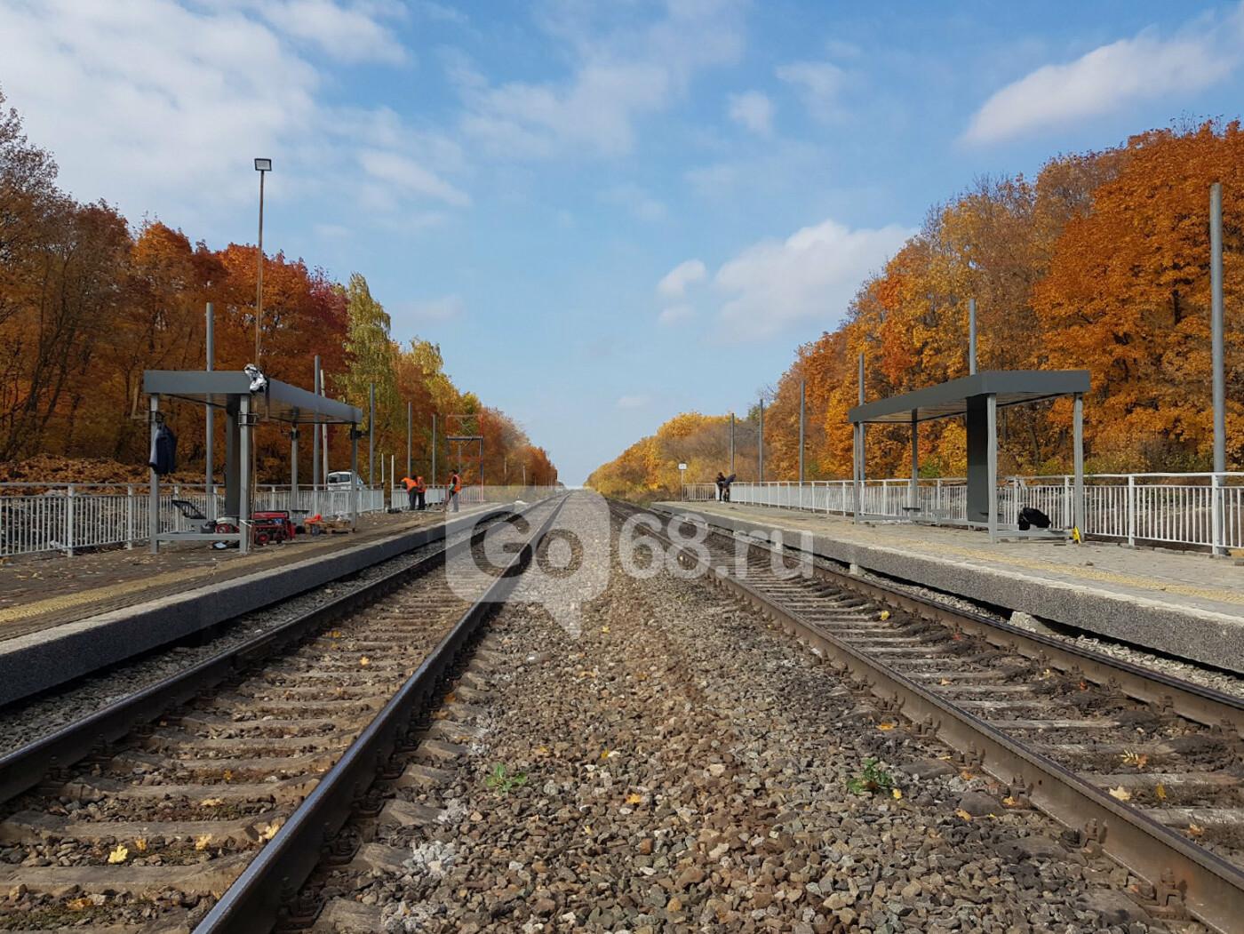 В Тамбове завершают строительство ж/д станции «Радужный», фото-1