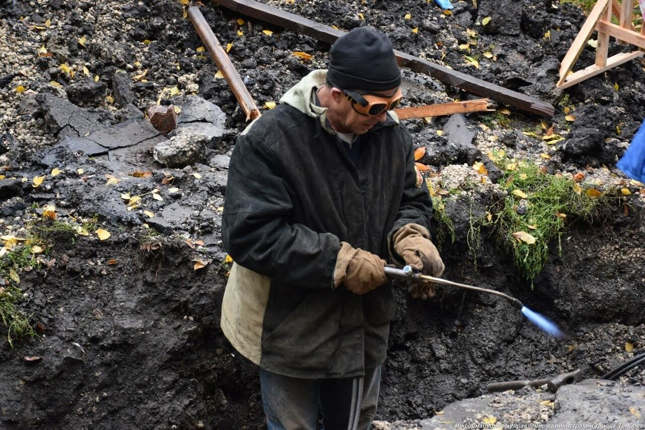 На севере Тамбова в воскресенье обещают дать отопление и горячую воду, фото-5