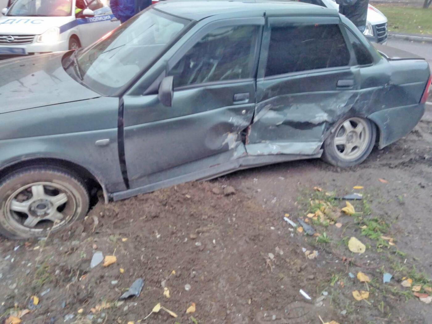 На севере Тамбова после столкновения двух легковушек госпитализировали мужчину, фото-2